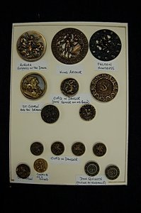11: A good display board of metal picture/story buttons