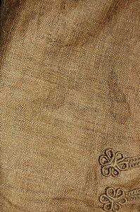 113: A rare infant's brown linen frock coat, circa 1780 - 3
