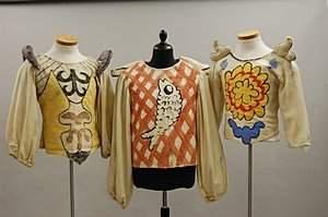 282: `Pulcinella', the costumes designed by Georgio de