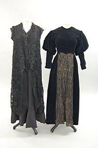 2001: Early 1930s dresses, comprising: Dickins & Jones