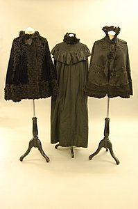 2002: A good group of late Victorian black capes and ac