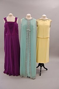 2012: A group of 1960s-1970s cruise/evening wear, appro