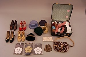 2013: A group of accessories, including four pairs of l
