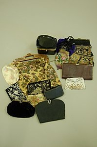 2024: A group of bags and purses, various dates, 17 pie