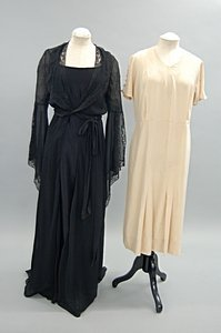 2044: A group of 1930s evening wear, summer wear and li - 6