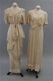 2091: A group of costume,  mainly circa 1911, ten ensem