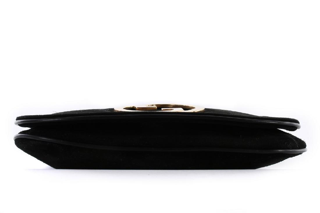 A Gucci black suede 'Blondie' shoulder bag, 1970s, - 3