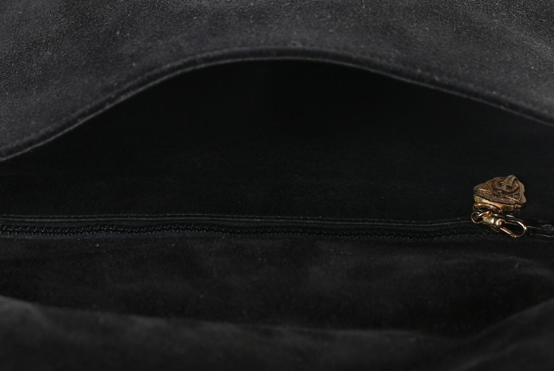 A Gucci black suede 'Blondie' shoulder bag, 1970s, - 8