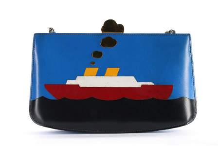 An Hermès 'Cruise' shoulder bag, 1980s, stamped in gold