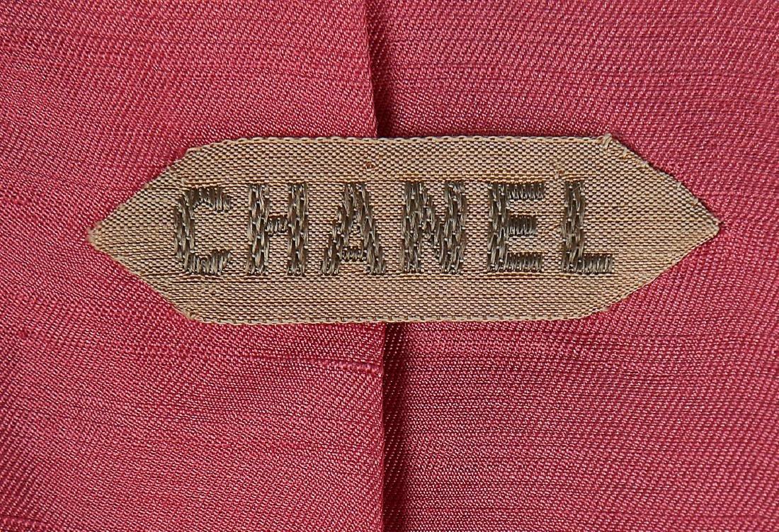 A Chanel couture navy moss crêpe suit, Autumn-Winter, - 6