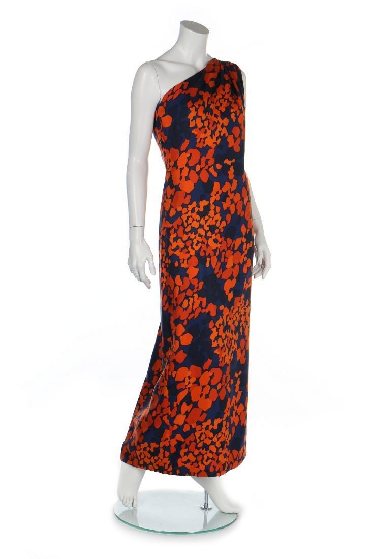 An Yves Saint Laurent couture printed silk foulard - 2