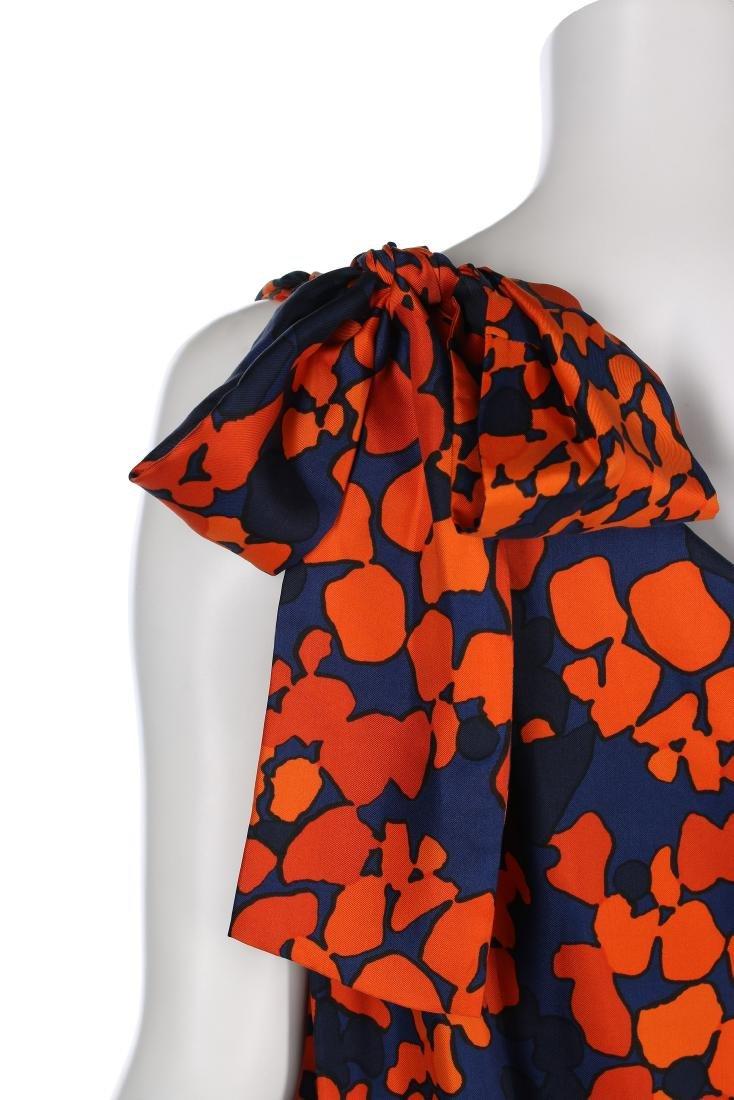 An Yves Saint Laurent couture printed silk foulard - 3