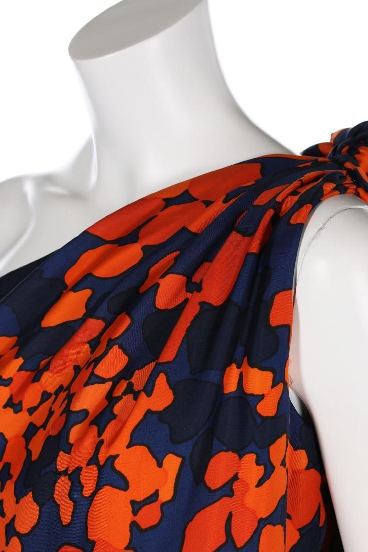 An Yves Saint Laurent couture printed silk foulard - 4
