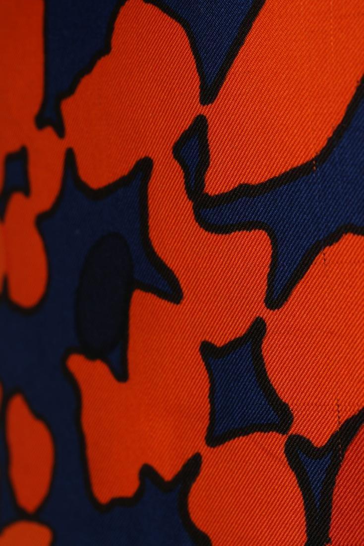 An Yves Saint Laurent couture printed silk foulard - 5
