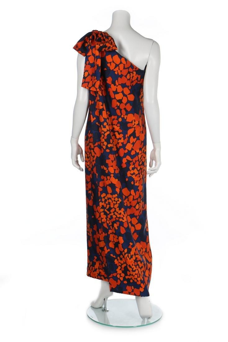 An Yves Saint Laurent couture printed silk foulard - 7