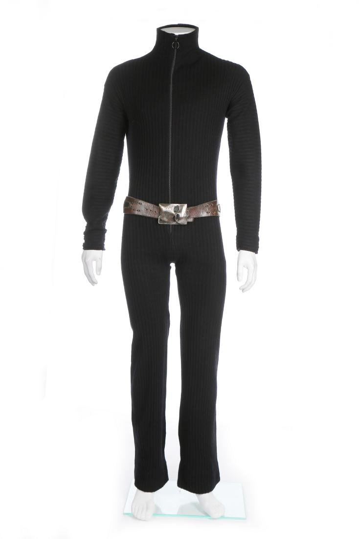 A fine and rare Pierre Cardin man's knitted jump suit,