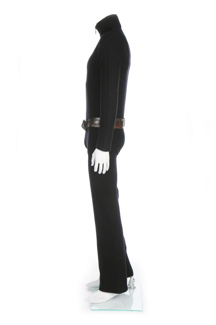 A fine and rare Pierre Cardin man's knitted jump suit, - 2