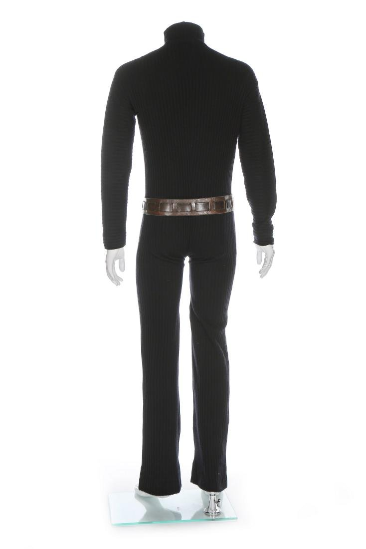 A fine and rare Pierre Cardin man's knitted jump suit, - 3