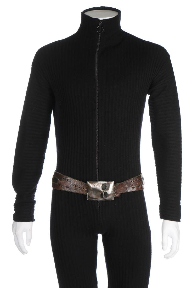 A fine and rare Pierre Cardin man's knitted jump suit, - 4