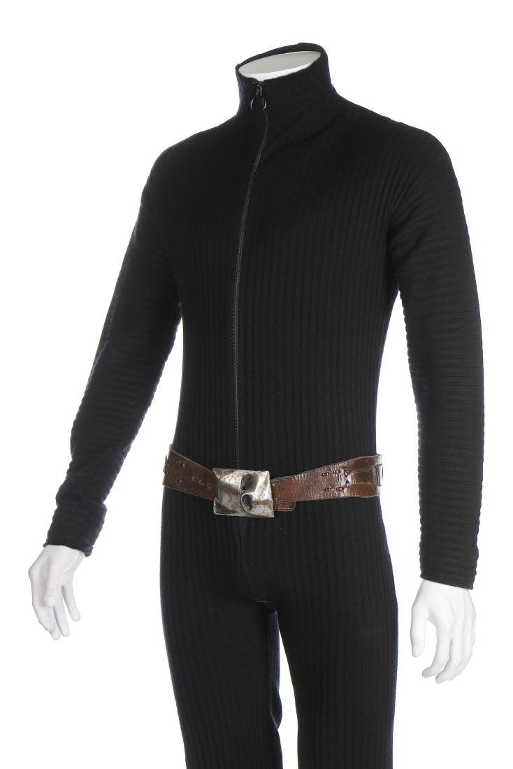 A fine and rare Pierre Cardin man's knitted jump suit, - 5