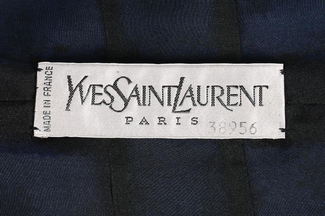An Yves Saint Laurent couture Chinoiserie silk tunic, - 7