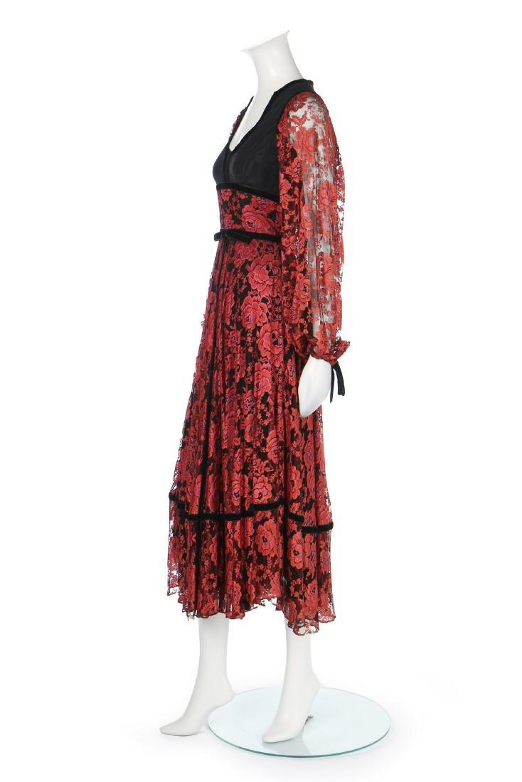 A Thea Porter 'gypsy' dress, circa 1970, couture - 2