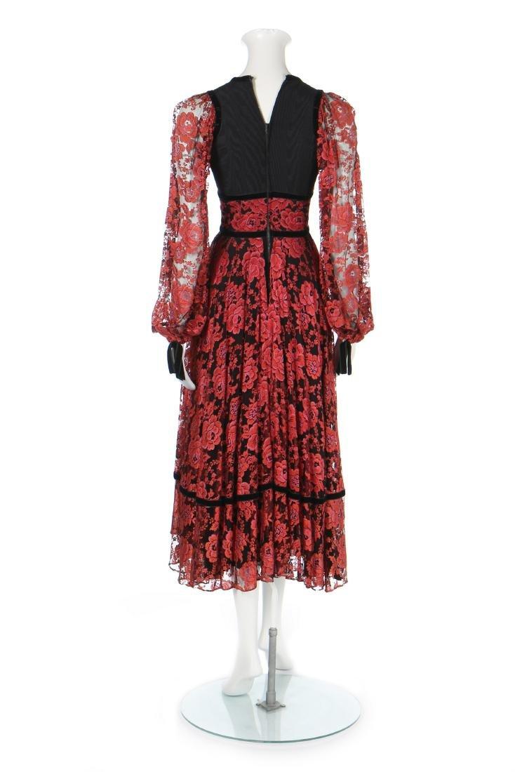 A Thea Porter 'gypsy' dress, circa 1970, couture - 3