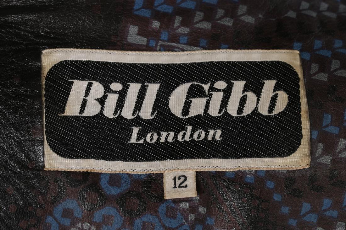 A rare Bill Gibb printed leather waistcoat, circa 1972, - 7