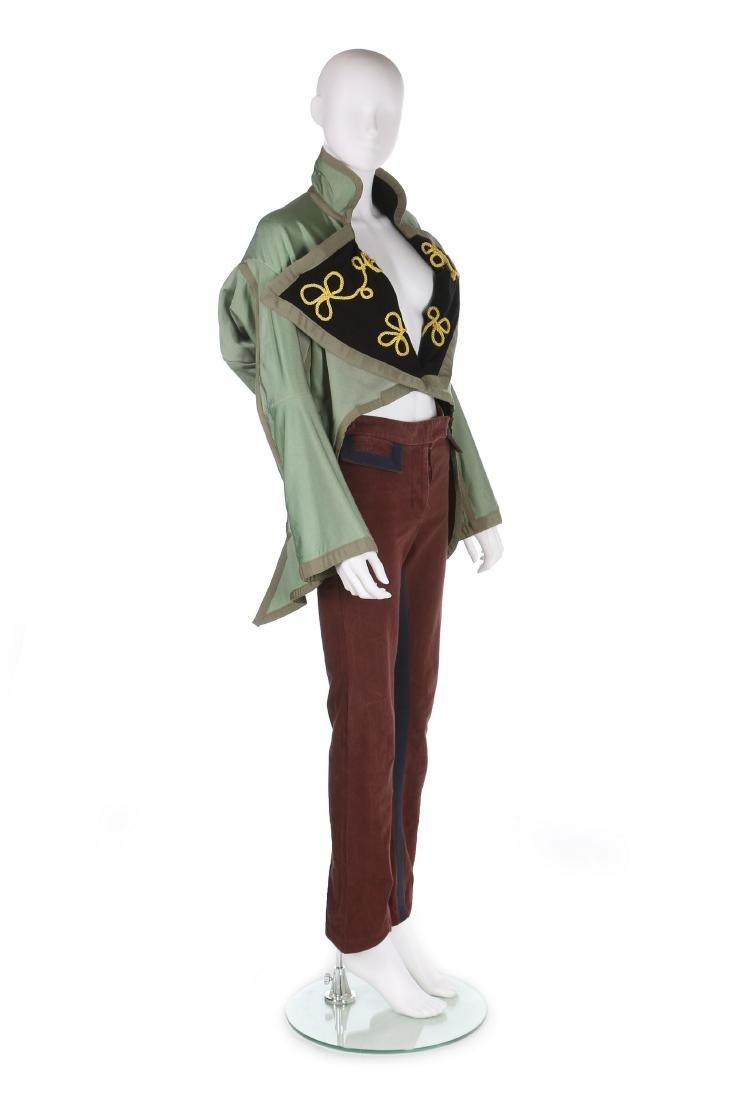 A John Galliano military inspired jacket, 'Honcho
