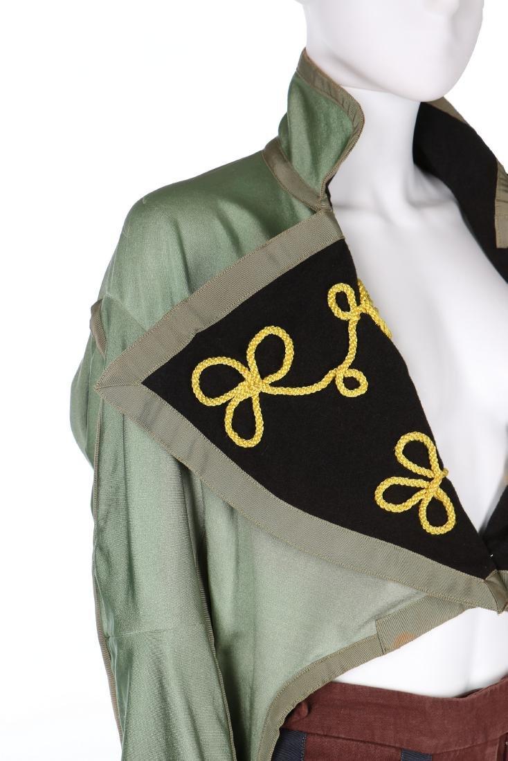 A John Galliano military inspired jacket, 'Honcho - 4