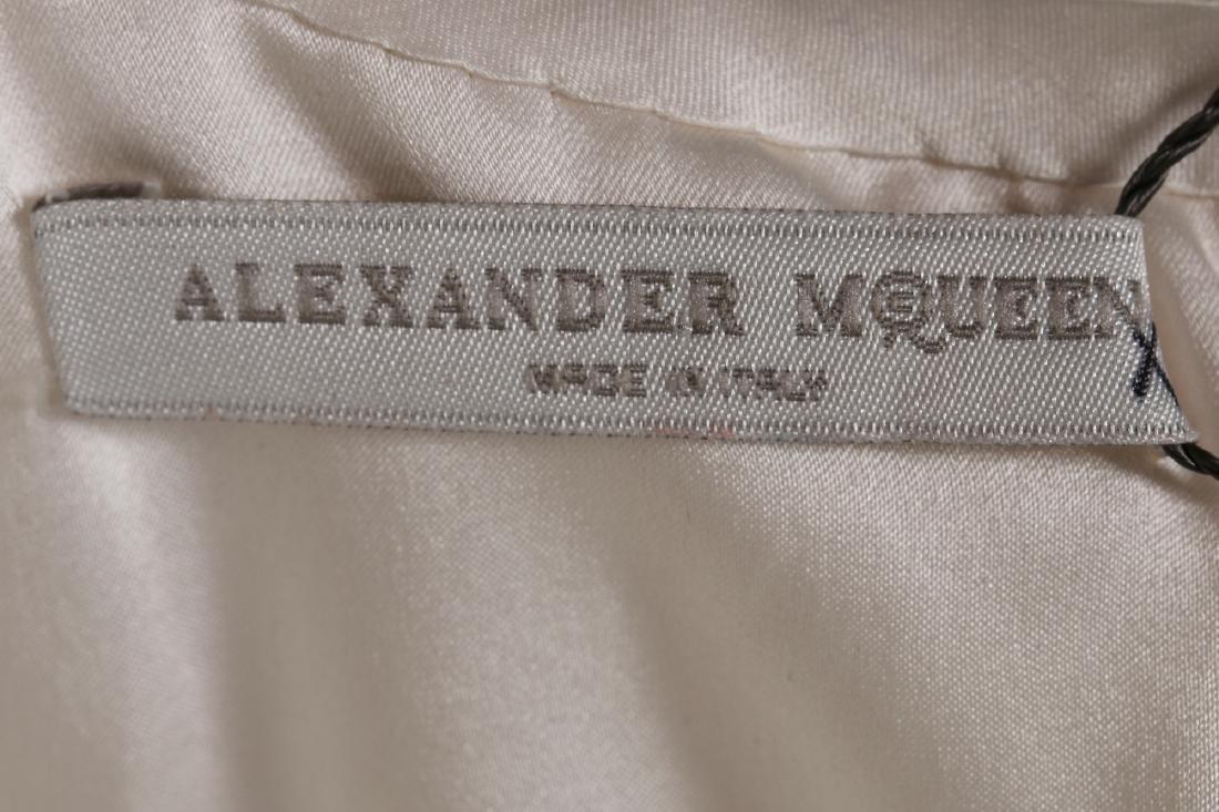 An Alexander McQueen romantic white chiffon gown, - 7
