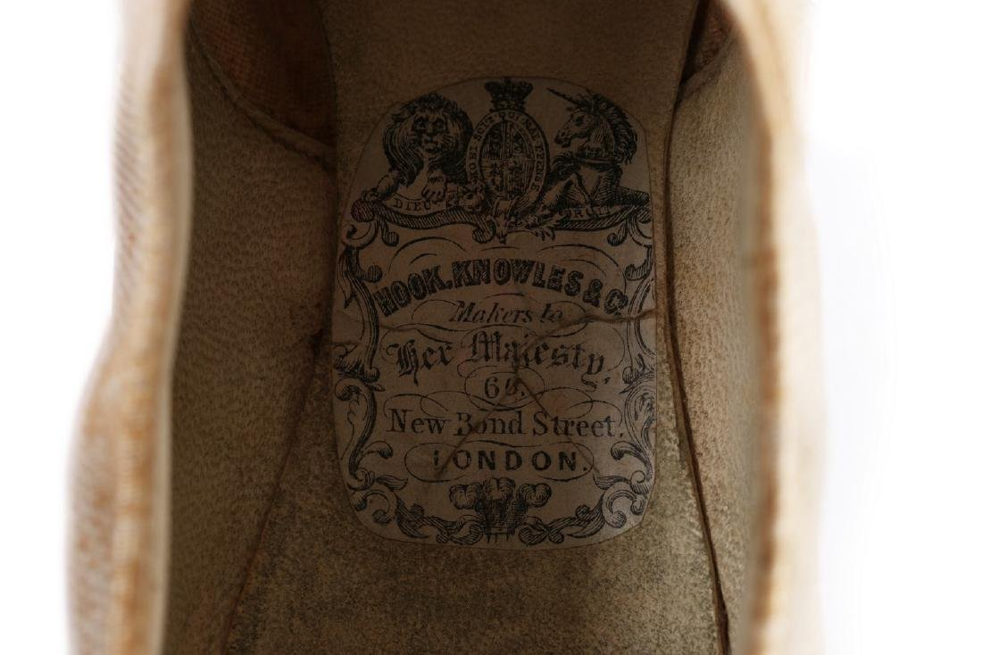 Empress Eugenie's summer brogues, 1870s, with Hook, - 5