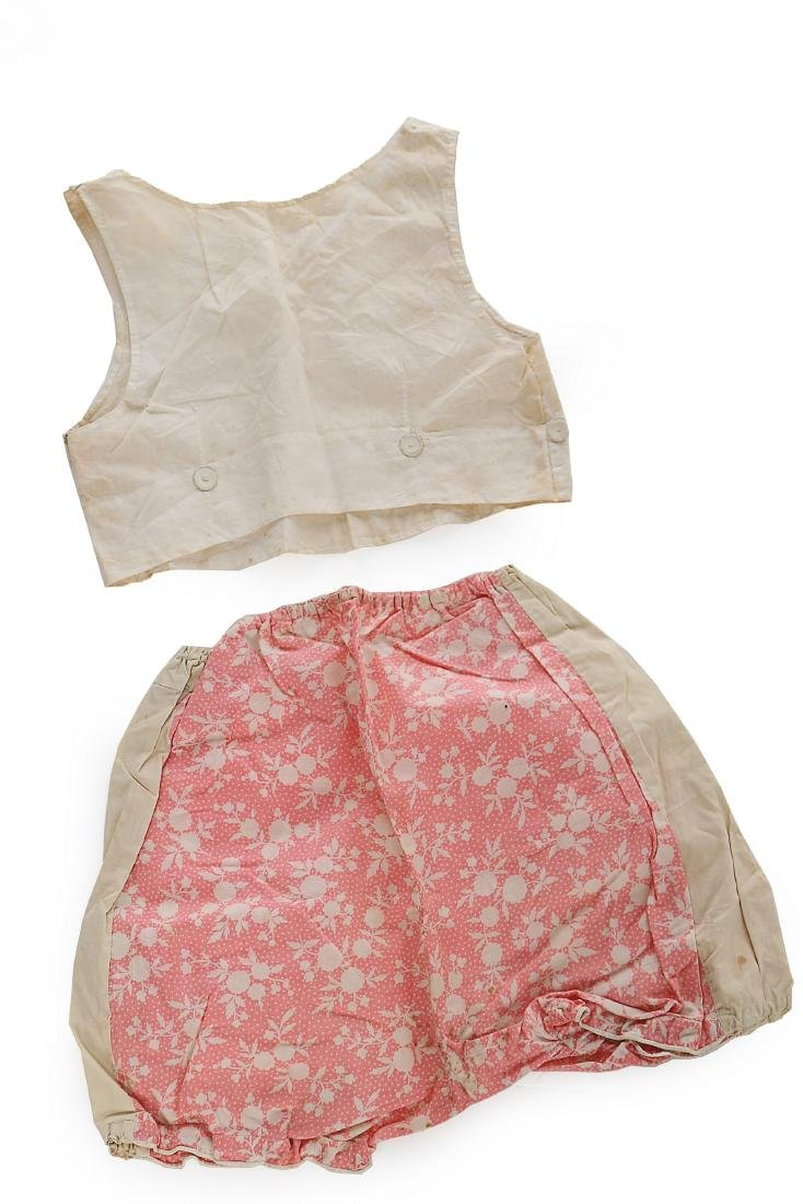 Princess Elizabeth's baby vest and printed cotton - 2