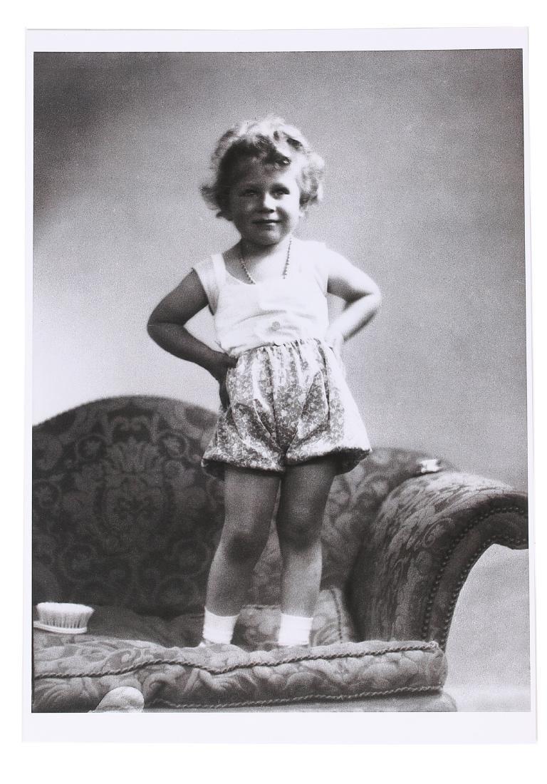 Princess Elizabeth's baby vest and printed cotton - 5