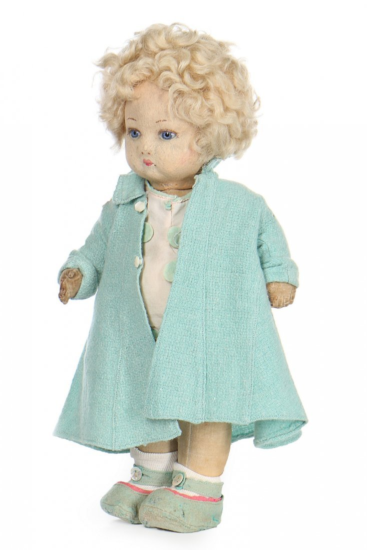 Princess Elizabeth's Chad Valley 'Bambina' pressed felt - 3