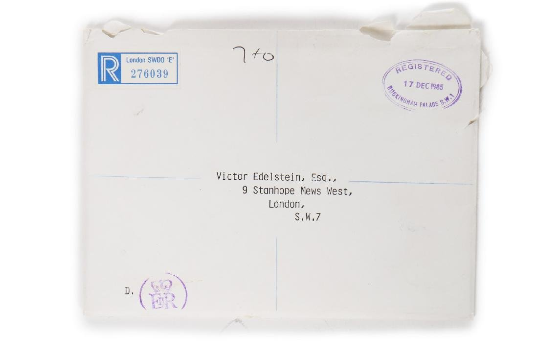 The Victor Edelstein Archive: Royal Christmas card, - 6