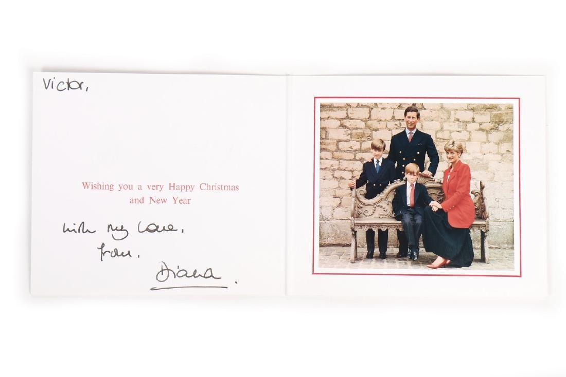 The Victor Edelstein Archive: Royal Christmas card,