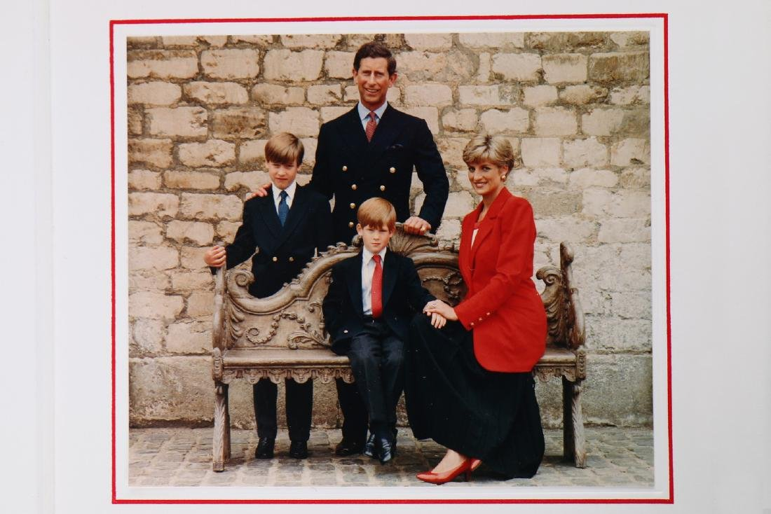 The Victor Edelstein Archive: Royal Christmas card, - 2