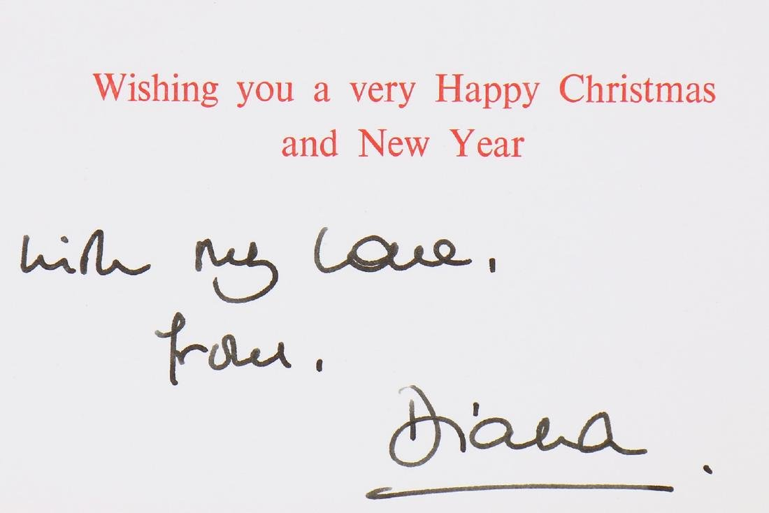 The Victor Edelstein Archive: Royal Christmas card, - 3