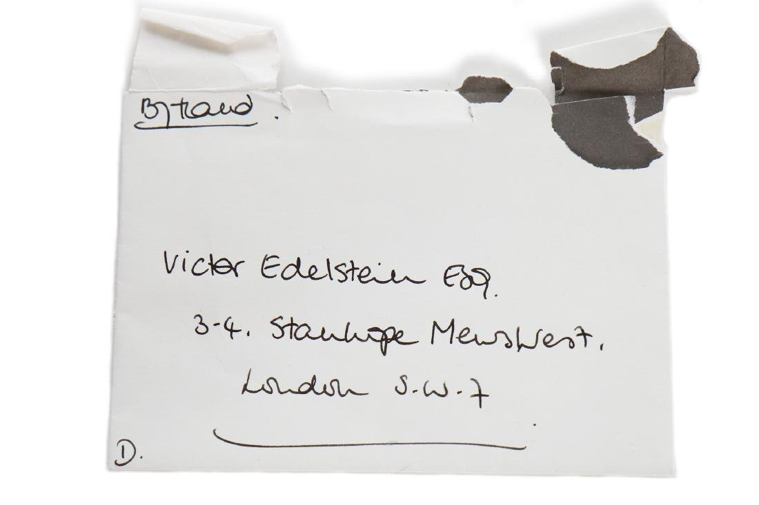 The Victor Edelstein Archive: Letter from Princess - 6