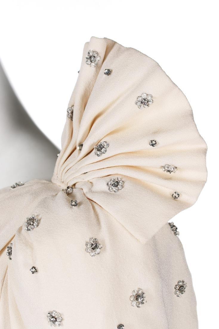 Princess Diana's fine and rare Emanuel ivory silk moss - 5
