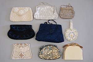 6: A group of evening/vanity bags 1930s-50s, including