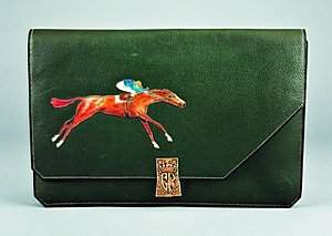 An extremely rare Hermès race bag, French, 1930s, s