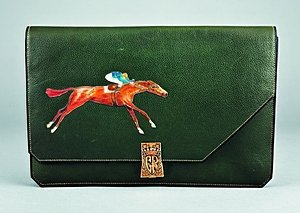 14: An extremely rare Hermès race bag, French, 1930s, s