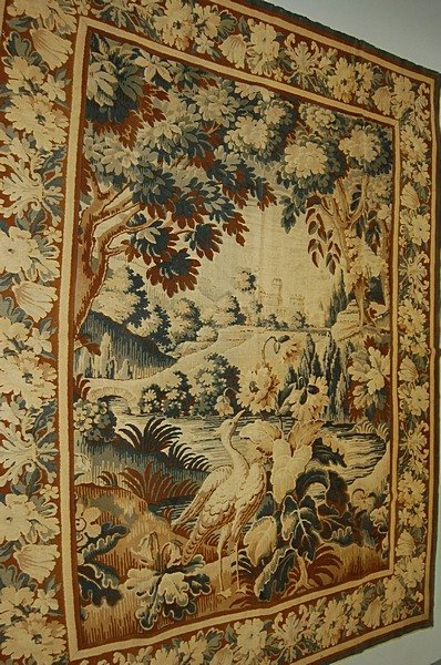 2006: A printed `tapestry', early 20th century in 18th