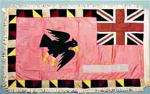 A Fante flag, Ghana, early 20th century, the pink