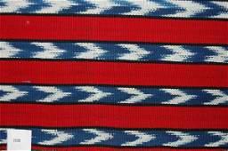 2080: Book of Guatemalan textile samples, mainly ikat w