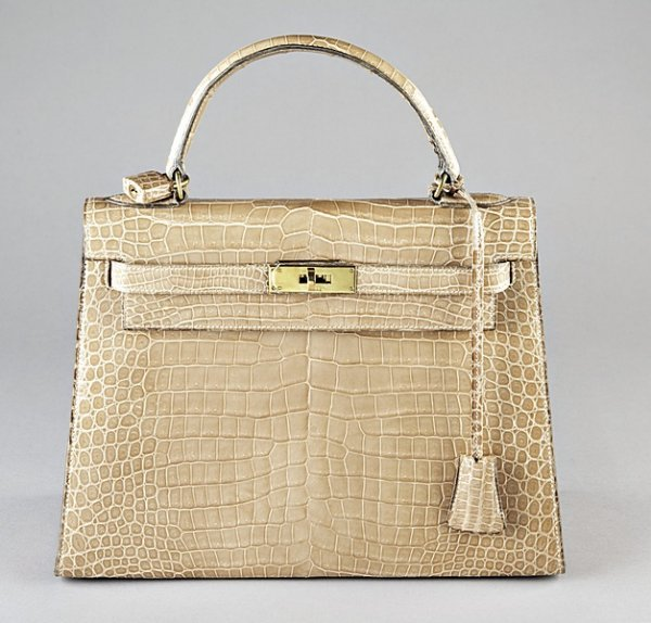 3: A fine Hermès sable crocodile Kelly bag, circa 1966,