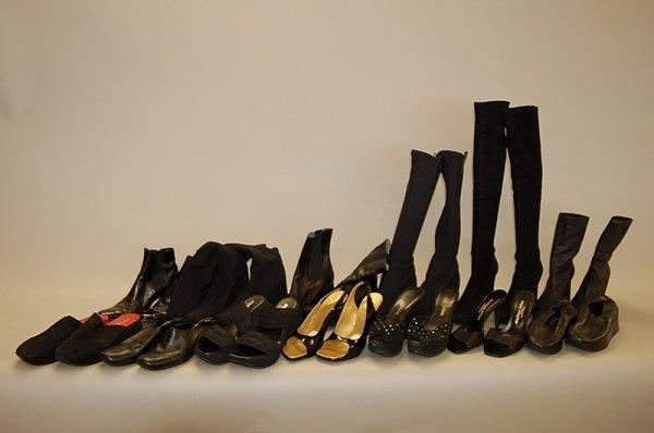 10: A group of Stephane Kelian footwear, comprising: th