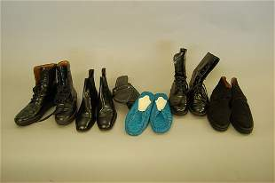 A group of Tod's footwear, comprising: four pairs o
